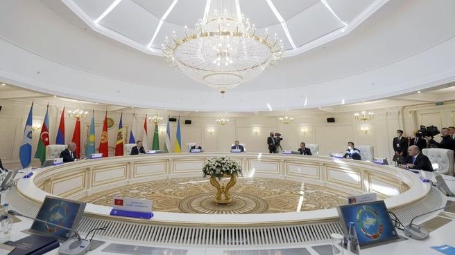 Заседание Совета глав правительств государств – участников СНГ в узком составе