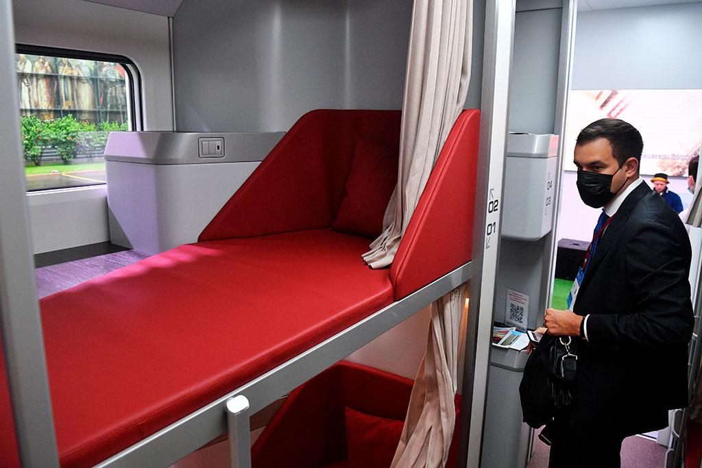 Нового капсульный пассажирский вагон от РЖД