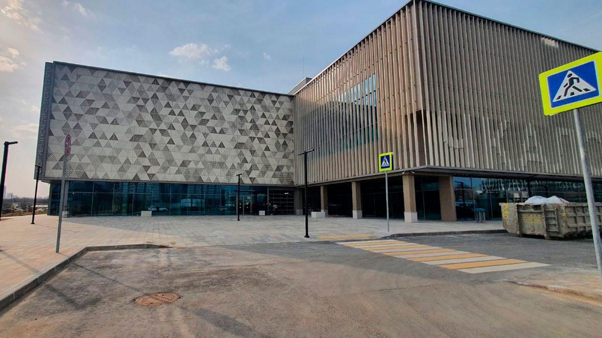 Спорткомплекс с центром художественной гимнастики введен в районе Покровское-Стрешнево