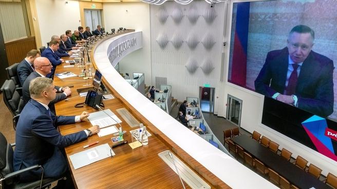 Дмитрий Чернышенко запустил первую линию квантовой связи между Москвой и Санкт-Петербургом