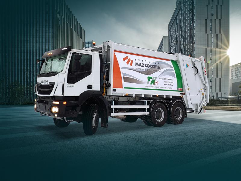Iveco Eurocargo и Iveco Trakker в лизинг с нулевым авансом со скидкой 300 тысяч рублей