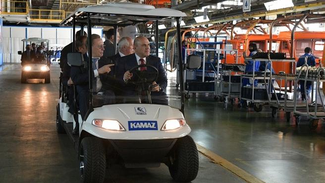 Посещение производственных предприятий ПАО «КАМАЗ»