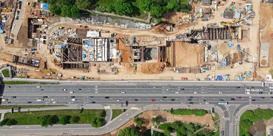 В столице продолжается строительство Большого кольца метро