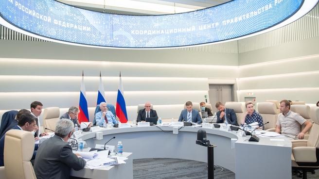 Заместитель Председателя Правительства Дмитрий Чернышенко и помощник Президента Андрей Фурсенко провели заседание Совета научно-образовательных центров