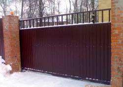 ворота-из-профлиста