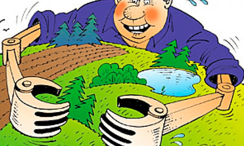 Мошенничество с землей госзакупками