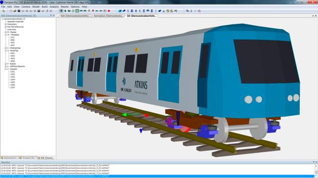 ПО для моделирования динамики подвижного состава