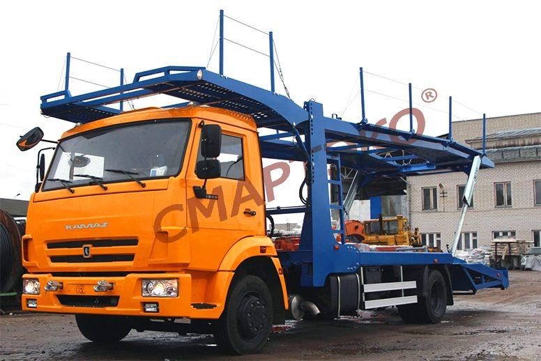 Эвакуатор-автовоз двухуровневый Шасси КАМАЗ-4308