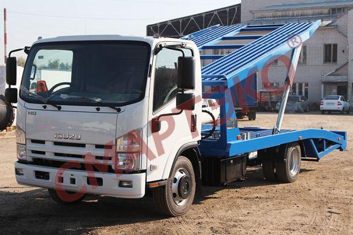 Эвакуатор-автовоз двухуровневый Шасси ISUZU NQR90L-K