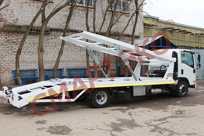 Эвакуатор-автовоз двухуровневый Шасси ISUZU NQR90LL