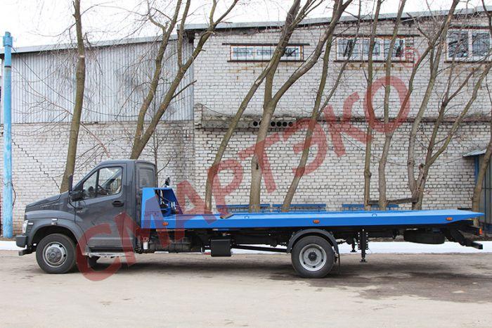 Эвакуатор со сдвижной платформой Шасси ГАЗ Next