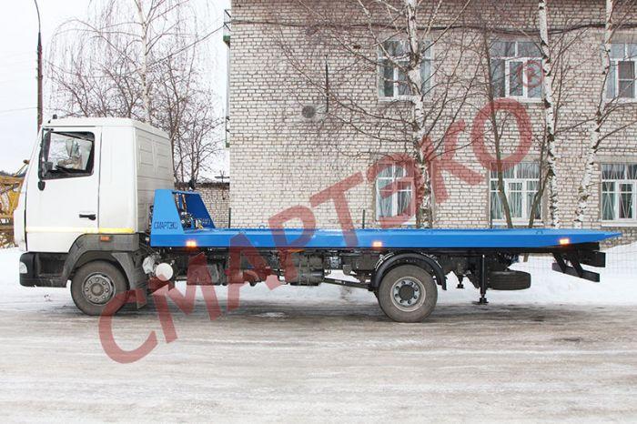 Эвакуатор со сдвижной платформой Шасси МАЗ-4371