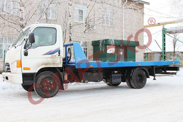 Эвакуатор со сдвижной платформой Hyundai HD-78 г/п 3,3т