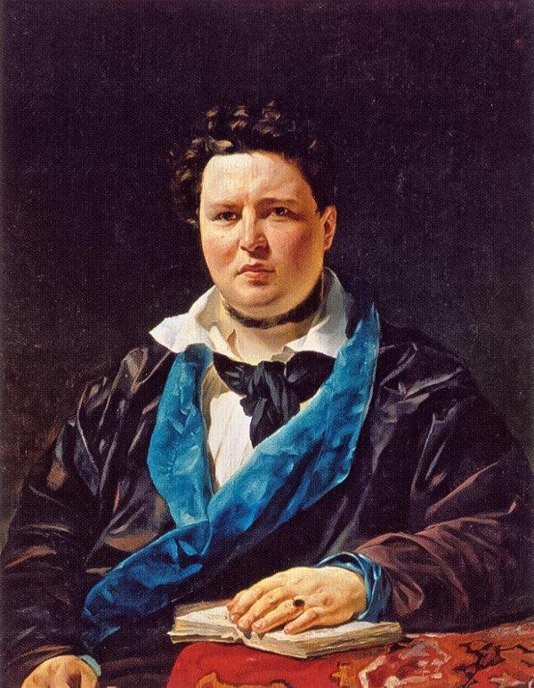 К. Брюллов. Портрет Павла Ивановича Кривцова. 1844 год