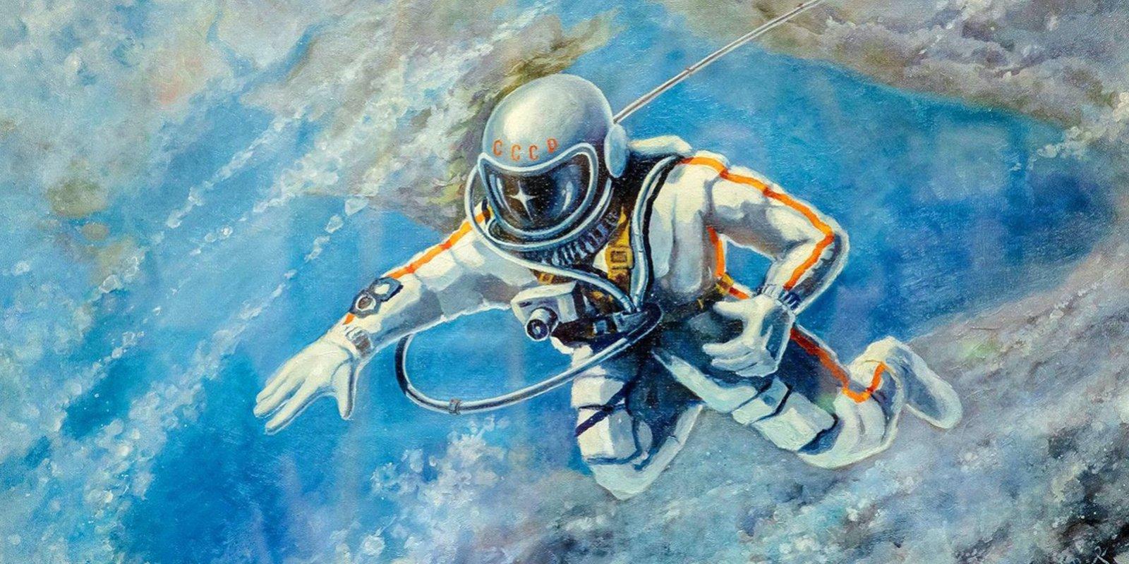 А. Леонов. Над Черным морем. 1973 год