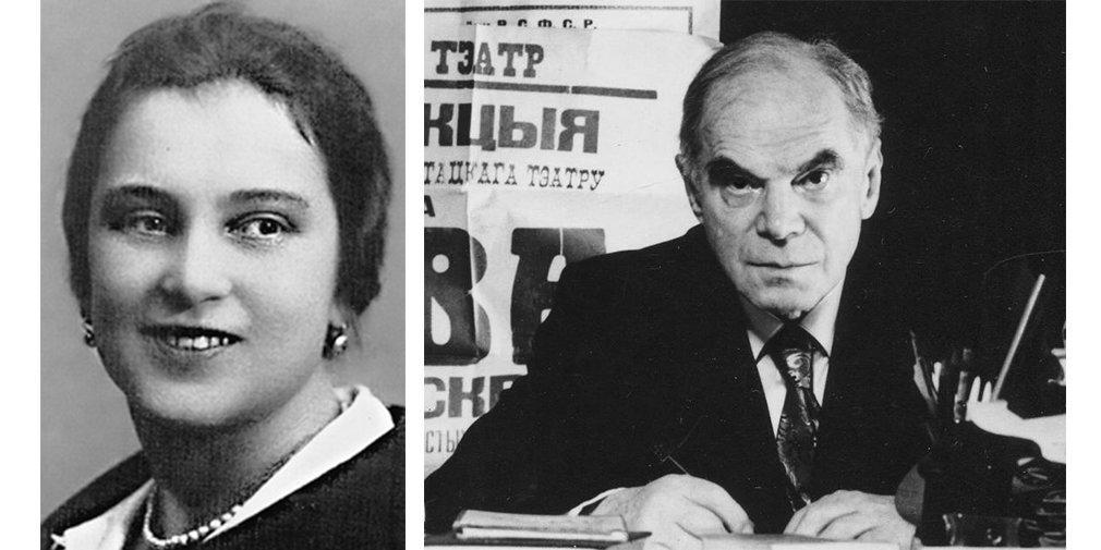 Елизавета Сергеевна Телешева (слева) и Павел Александрович Марков (справа)