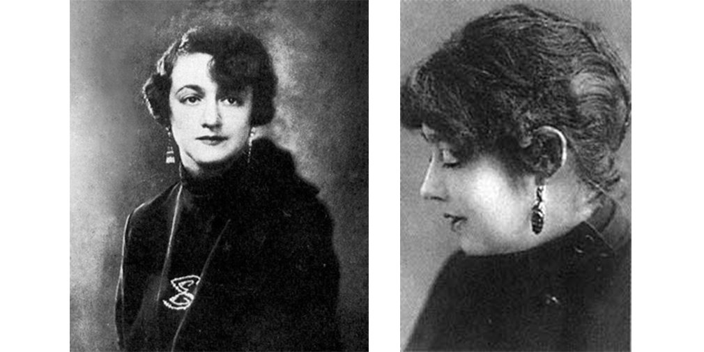 Елена Сергеевна Булгакова (слева) и Ольга Сергеевна Бокшанская (справа)