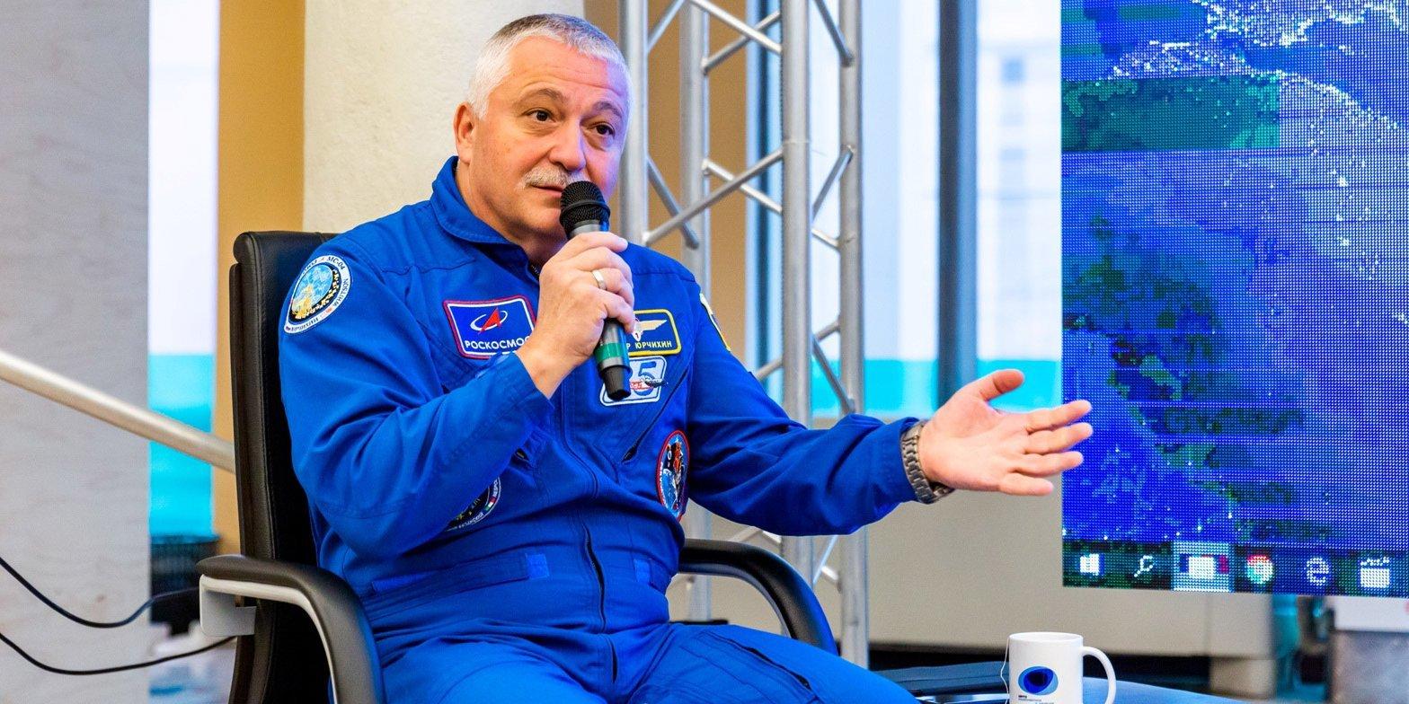 Космонавт Федор Юрчихин. Фото: пресс-служба ВДНХ