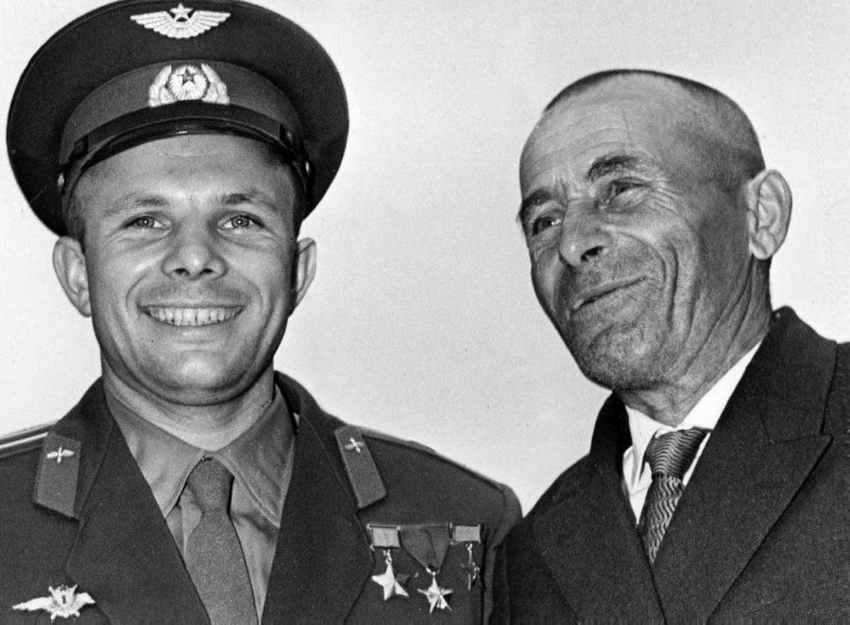 Юрий и Алексей Гагарины