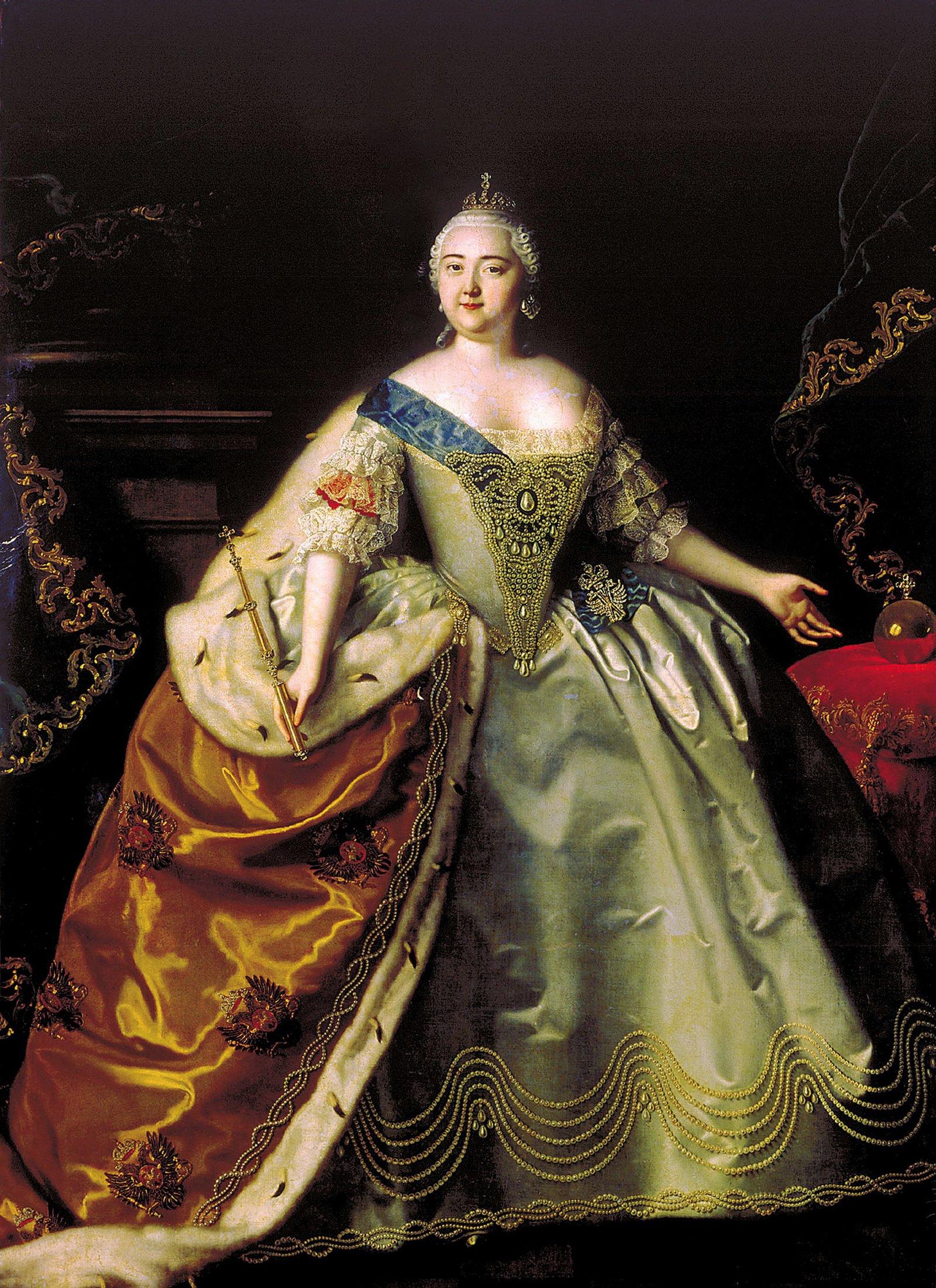 Луи Каравак. Портрет императрицы Елизаветы Петровны. 1750 год