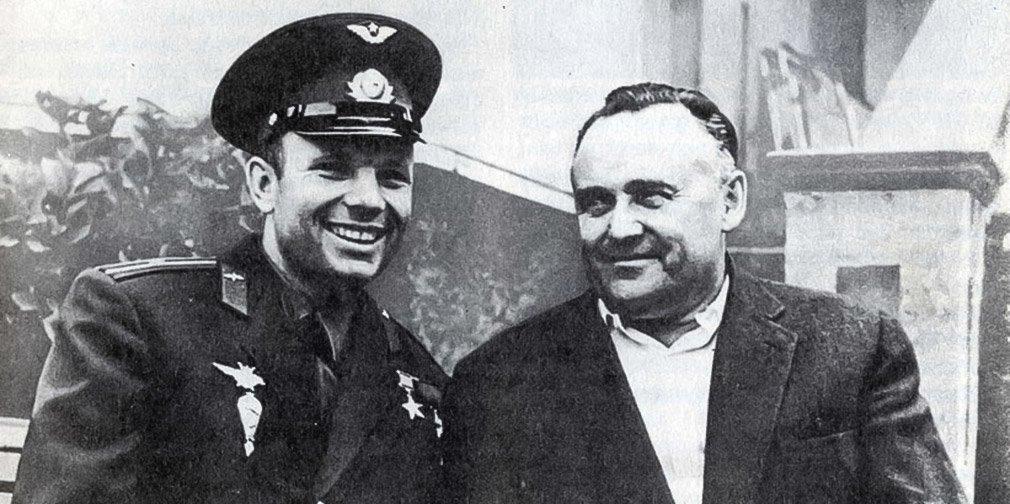 Юрий Гагарин и Сергей Королев. Фото: Музей космонавтики