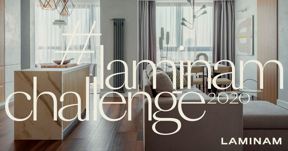 Компания LAMINAM Rus объявляет о начале конкурса #LAMINAMCHALLENGE