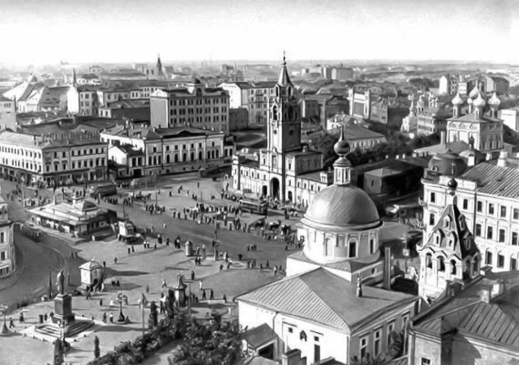 Страстная площадь. 1920-е годы