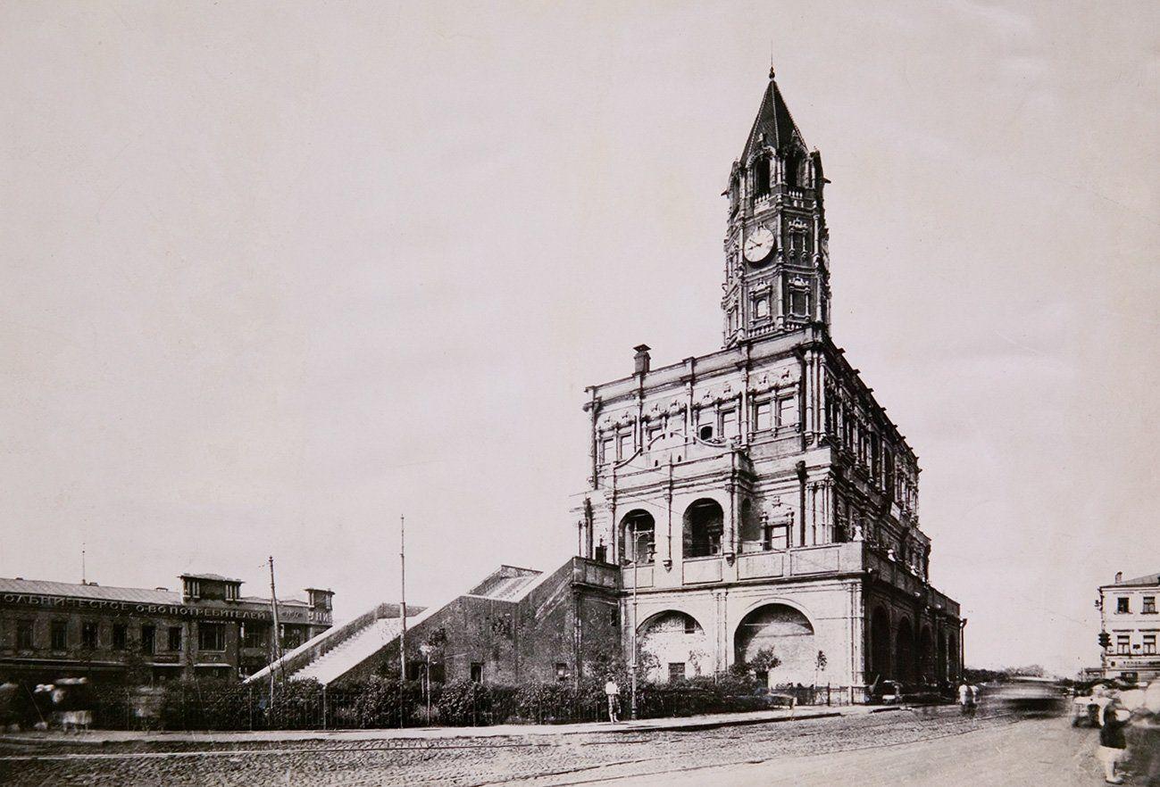 Вид на Сухареву башню. Автор неизвестен. 1920-е годы. Главархив Москвы