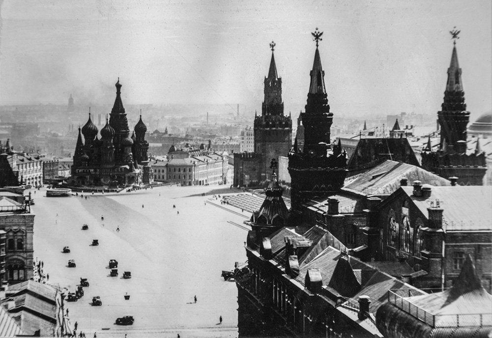 Красная площадь. Автор Н. Грановский. Москва. 1924-1936 годы. Главархив Москвы