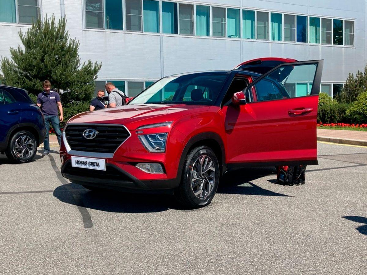 Hyundai впервые показала новую «Крету» для России