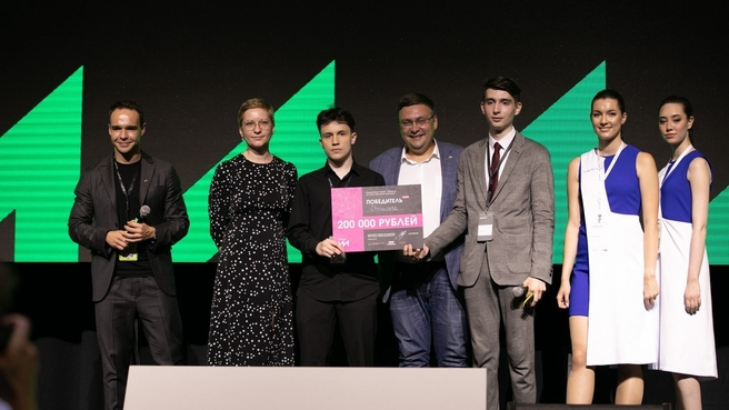 Команда победителей хакатона по искусственному интеллекту
