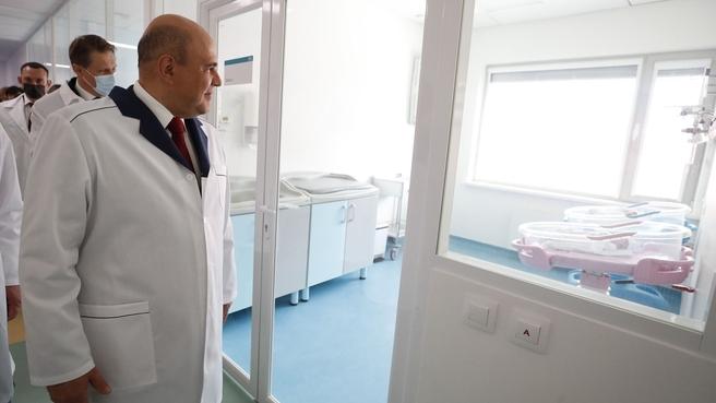 Посещение Национального медицинского исследовательского центра акушерства, гинекологии и перинатологии имени академика В.И.Кулакова