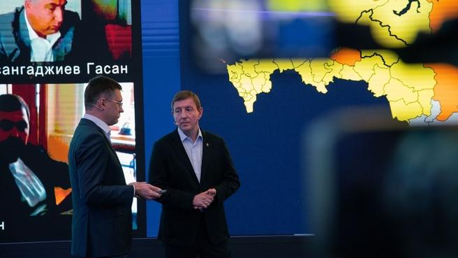 Александр Новак и секретарь Генсовета партии «Единая Россия» Андрей Турчак обсудили реализацию программы догазификации в России