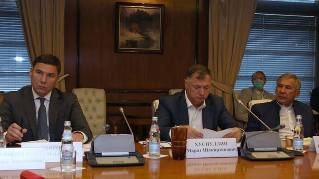 Марат Хуснуллин провёл первое заседание оргкомитета по празднованию 1100-летия принятия ислама Волжской Булгарией