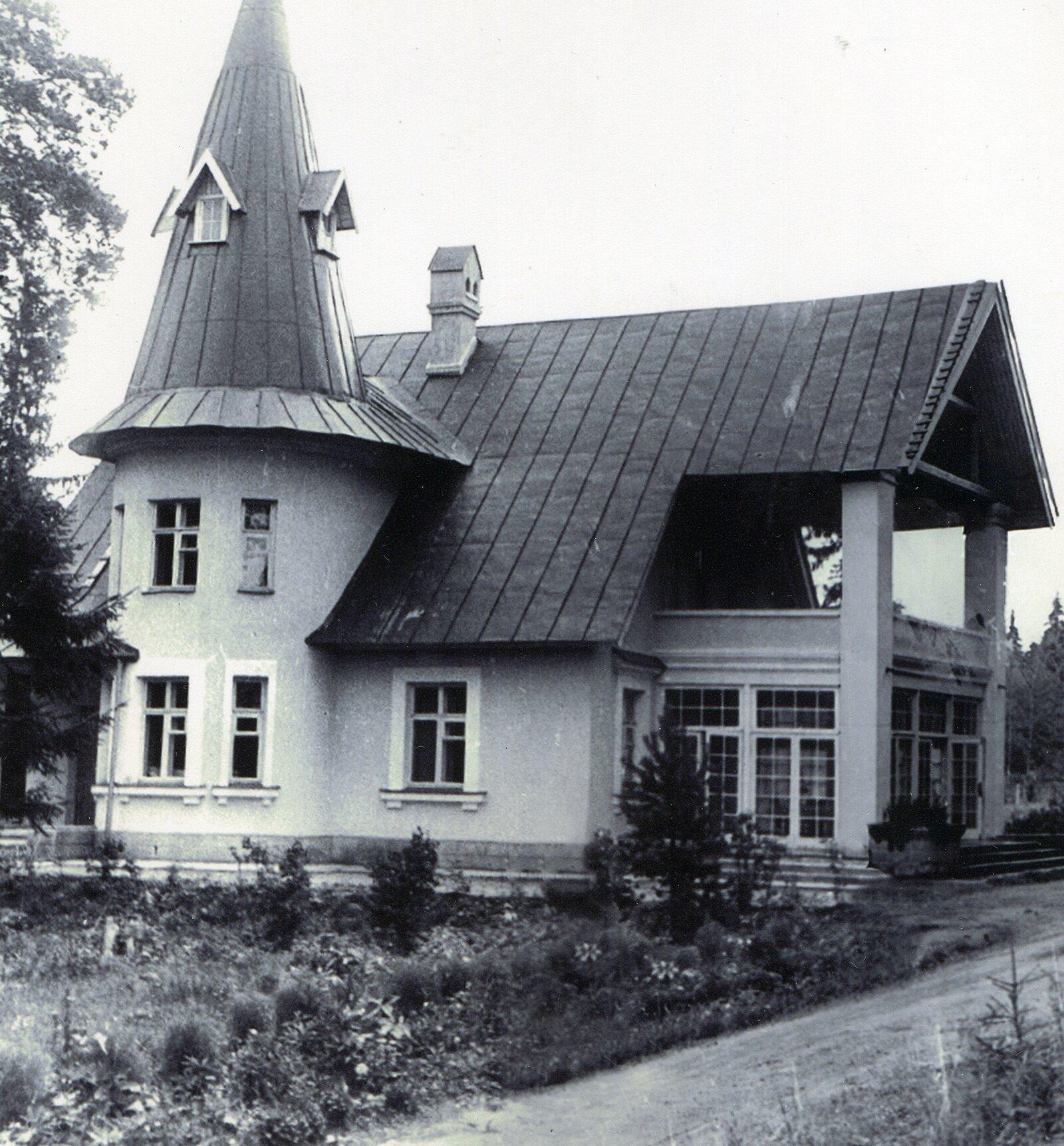 Дача Семена Лавочкина в поселке Крюково. Вторая половина 1950-х годов. Музей Зеленограда