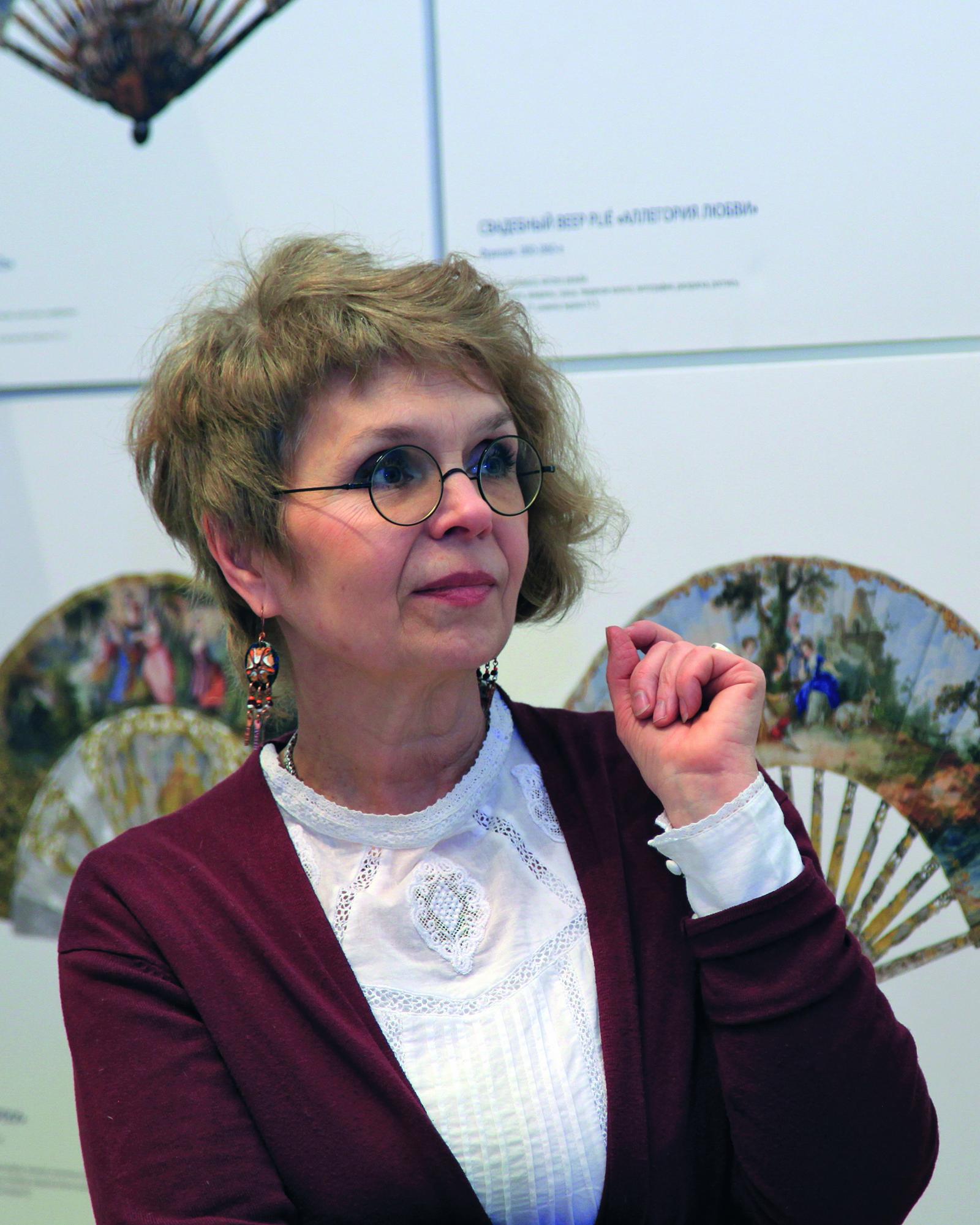 Лариса Гетьман, художник-реставратор высшей категории
