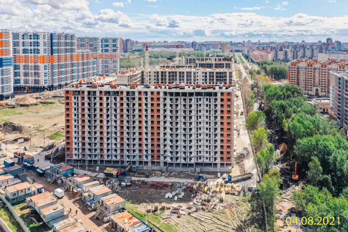 ЖК «Полис Приморский» – треть объекта построена