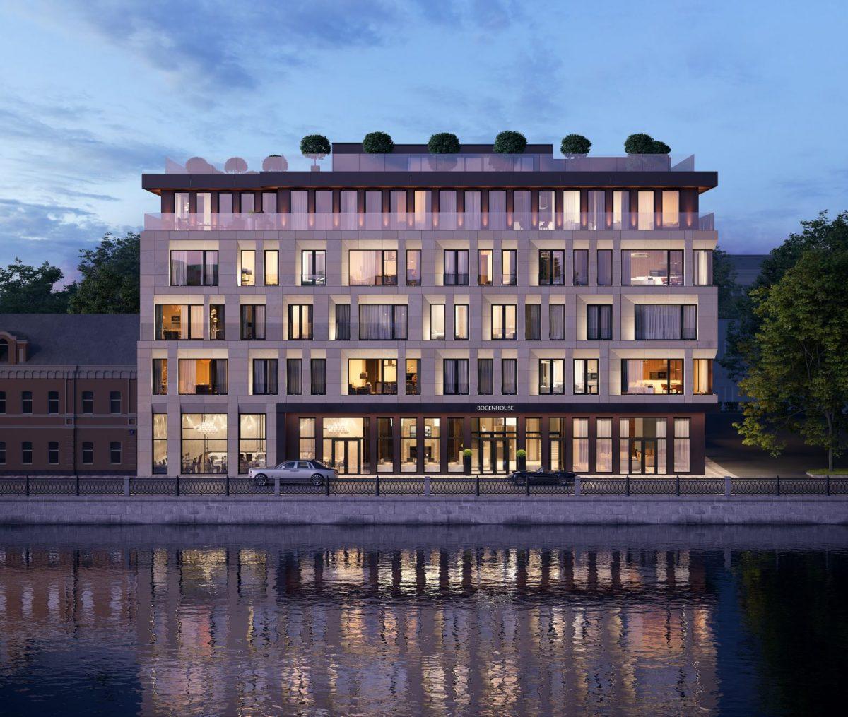 На рынок элитной недвижимости Москвы вышел новый клубный дом BOGENHOUSE