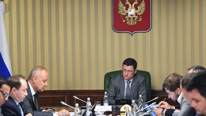 Cовещание оргкомитета по подготовке и проведению в Санкт-Петербурге 25-го Мирового энергетического конгресса