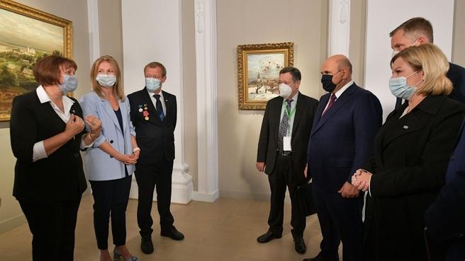 Беседа с музейными работниками Нижегородской области