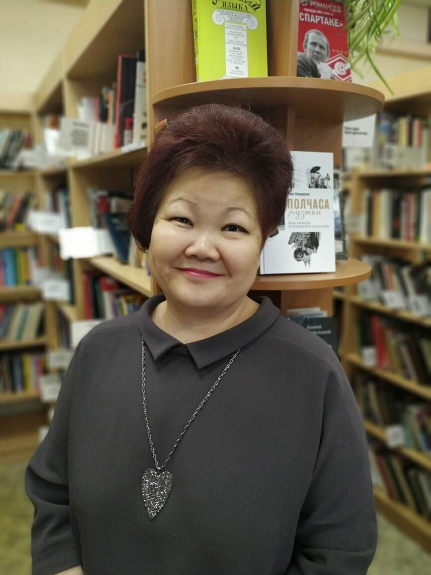 Римма Гарбуз, заведующая библиотекой № 192 и куратор библиотеки № 195