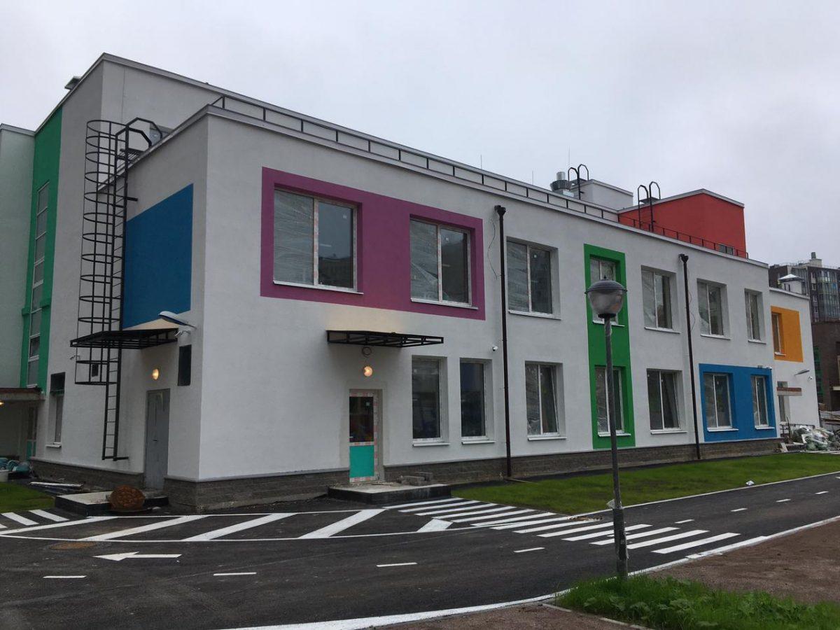 ГК «Полис Групп» построила для жителей ЖК «Вернисаж» еще один детский сад