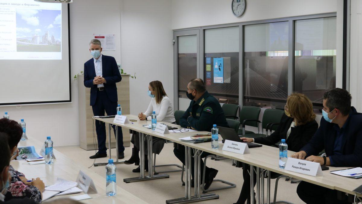 При цементном заводе ЛафаржХолсим в п. Ферзиково создан Общественный совет