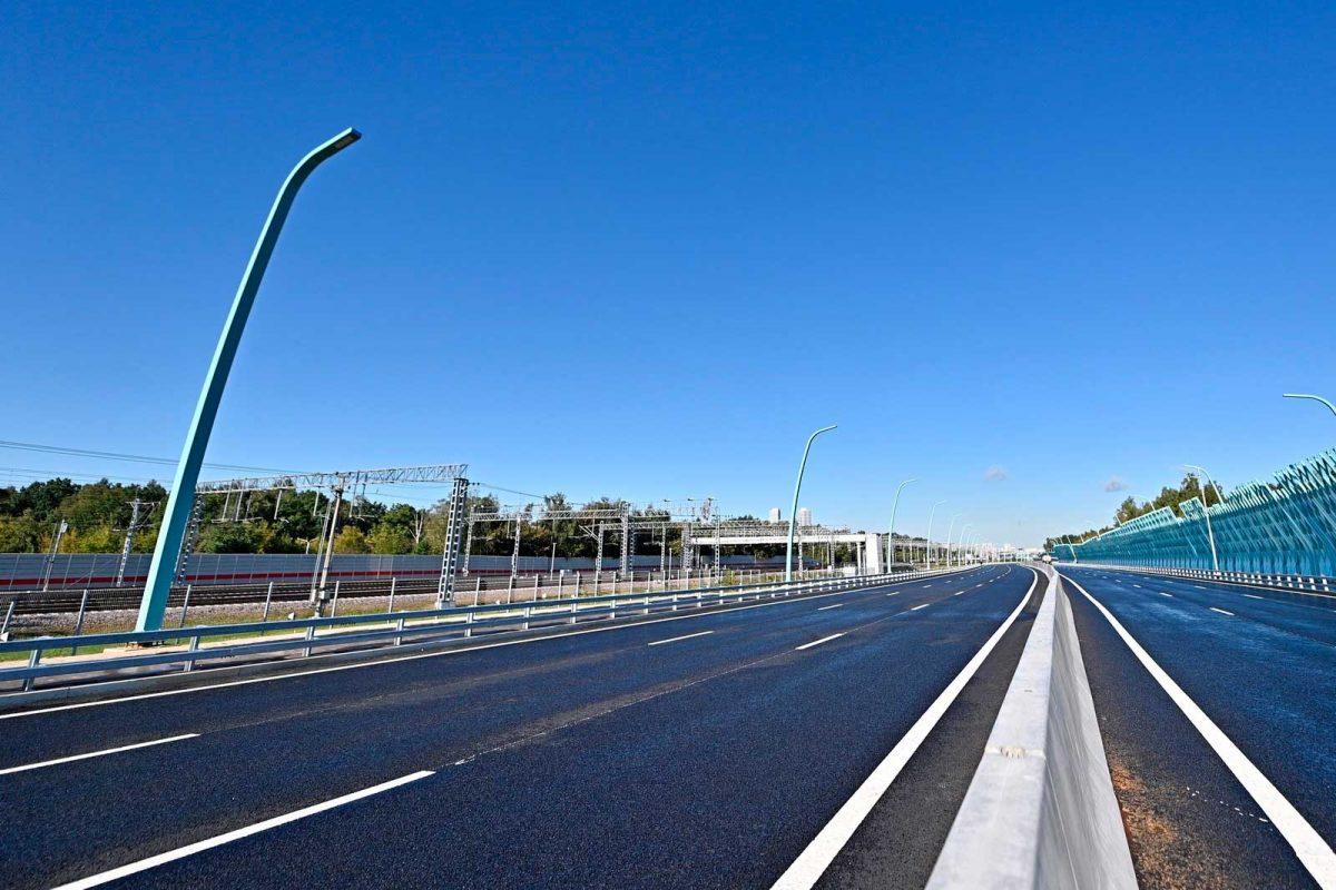 Запуск движения по участку СВХ от Открытого до Ярославского шоссе и развязке с проспектом Мира.