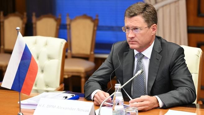 Александр Новак провёл 20-ю министерскую встречу стран ОПЕК и не-ОПЕК