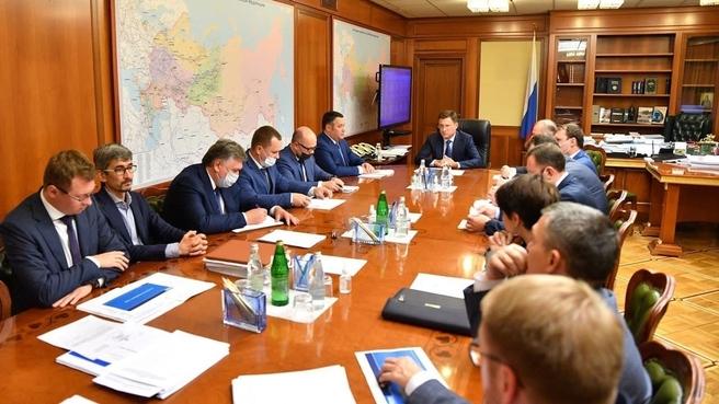 Александр Новак провёл совещание по модернизации системы теплоснабжения Твери