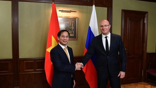 Дмитрий Чернышенко и Буй Тхань Шон обсудили реализацию российско-вьетнамских инвестпроектов