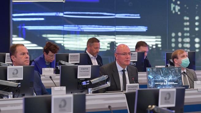 Дмитрий Чернышенко и Игорь Комаров на совещании с главами субъектов ПФО по вопросу социально-экономического развития