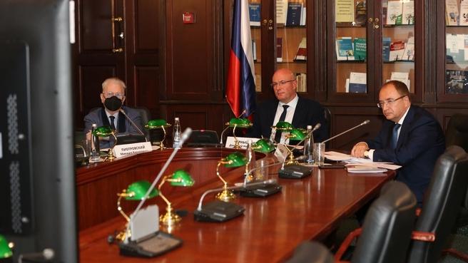 Дмитрий Чернышенко провёл заседание оргкомитета по подготовке к празднованию 300-летия Санкт-Петербургского государственного университета