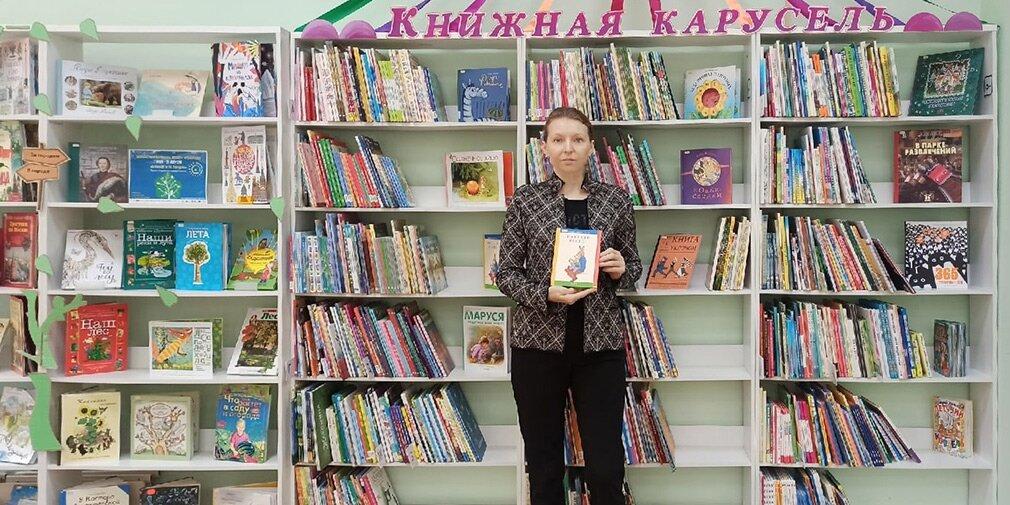 Елена Кононова, заведующая детской библиотекой № 145